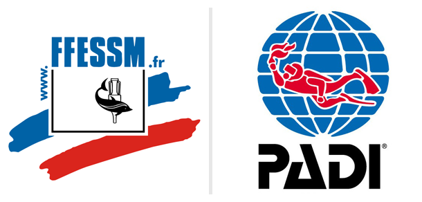 formations FFESSM PADI Corse